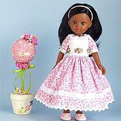 Материалы для творчества handmade. Livemaster - original item Patterns: Dress for Paola Reina dolls