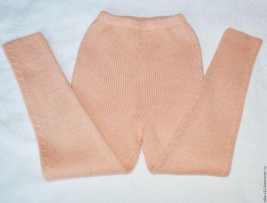 Одежда для девочек, ручной работы. Ярмарка Мастеров - ручная работа. Купить Рейтузы детские вязаные. Handmade. Бежевый, детские рейтузы
