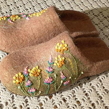 Footwear handmade. Livemaster - original item Summer, goodbye!. Handmade.