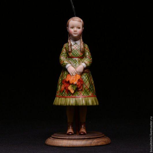 Коллекционные куклы ручной работы. Ярмарка Мастеров - ручная работа. Купить Тоня. Handmade. Разноцветный, елочная игрушка, масляные краски