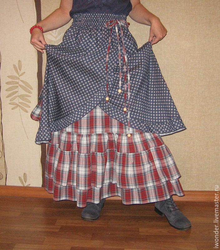 Джинсовая одежда в стиле бохо