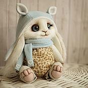 Куклы и игрушки ручной работы. Ярмарка Мастеров - ручная работа Зайка в костюме. Handmade.