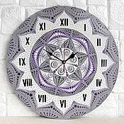 Для дома и интерьера handmade. Livemaster - original item Mandala Wall Clock Interior for Home and Office. Handmade.