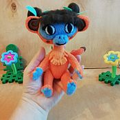 Куклы и игрушки handmade. Livemaster - original item Monkey Lily m / f Leo and TIG. Handmade.