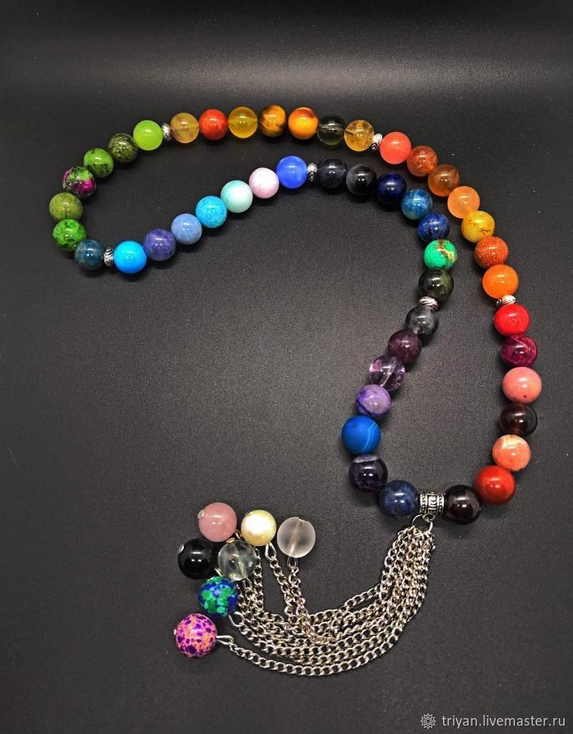 Chakra prayer beads, Rosary, Moscow,  Фото №1