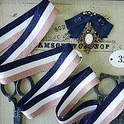 Аксессуары для вышивки ручной работы. Ярмарка Мастеров - ручная работа Лампасы трикотажные для отделки одежды. Handmade.
