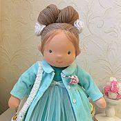 Куклы и игрушки handmade. Livemaster - original item Sabina - Waldorf doll. Handmade.