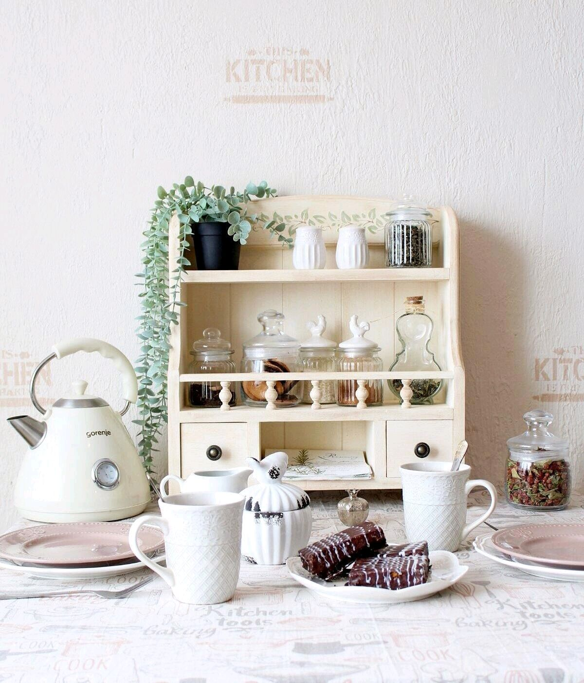Полка буфет на стол в стиле Прованс, Полки, Барнаул,  Фото №1