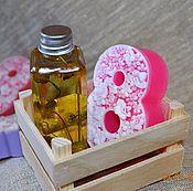 Косметика ручной работы. Ярмарка Мастеров - ручная работа Набор натуральной косметики, подарок на 8 марта, натуральное мыло. Handmade.