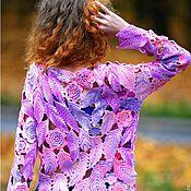 "Одежда handmade. Livemaster - original item Pullover"" Watercolor"". Handmade."