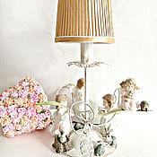Для дома и интерьера handmade. Livemaster - original item Table lamp Flower fairy tale based on Cecile Mary Barker. Handmade.