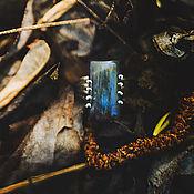 """Украшения ручной работы. Ярмарка Мастеров - ручная работа Серебряное кольцо с лабрадором """"Аврора"""". Handmade."""
