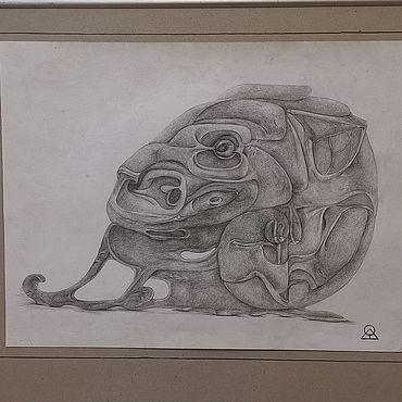 Картины и панно ручной работы. Ярмарка Мастеров - ручная работа Картины: Львица. Handmade.