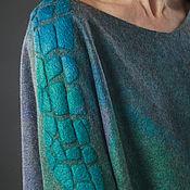 handmade. Livemaster - original item Felted dress lizard. Handmade.