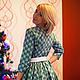 """Платья ручной работы. Заказать Платье из американского хлопка """"Очарование"""". Sherberry. Ярмарка Мастеров. Платье летнее, платье короткое"""