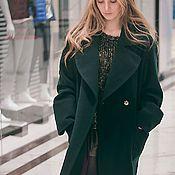 "Одежда ручной работы. Ярмарка Мастеров - ручная работа Пальто-халат ""Изумруд"" look 2. Handmade."
