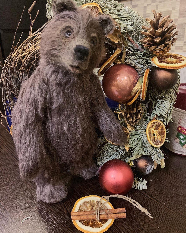 Teddy Bear Mikhailo Potapovich, Teddy Bears, Moscow,  Фото №1