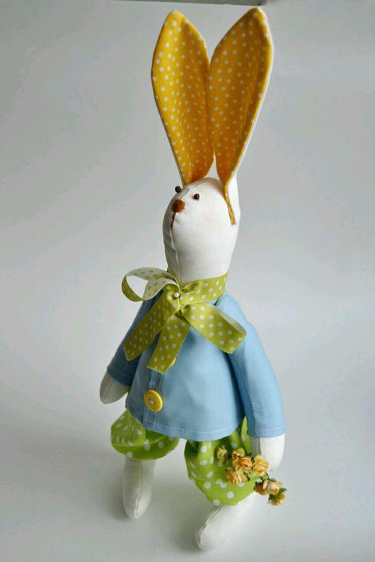 Куклы Тильды ручной работы. Ярмарка Мастеров - ручная работа. Купить Заяц Тильды. Handmade. Кукла интерьерная, заяц