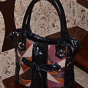 Классическая сумка ручной работы. Ярмарка Мастеров - ручная работа Классическая сумка: Сумка кожаная женская Модель 405. Handmade.
