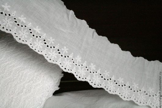 Шитье ручной работы. Ярмарка Мастеров - ручная работа. Купить № 44 Кружевное шитье.. Handmade. Белый, материалы для рукоделия