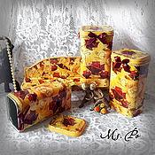 """Для дома и интерьера handmade. Livemaster - original item Набор для кухни """"Розы"""". Handmade."""