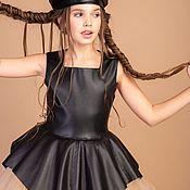 """Платья ручной работы. Ярмарка Мастеров - ручная работа Коктейльное платье с баской """"Sharm"""". Handmade."""