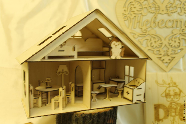 Кукольный домик своими руками из фанеры схема : с размерами чертеж для 63