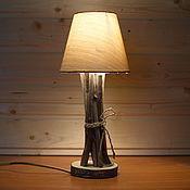 Для дома и интерьера ручной работы. Ярмарка Мастеров - ручная работа Лампа настольная с абажуром. Handmade.