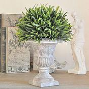 Цветы и флористика handmade. Livemaster - original item Concrete pot Antique No. №2 for décor and floral design, pot Provence. Handmade.
