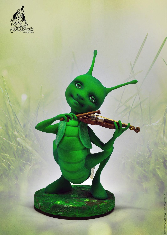 картинки кузнечик запиликает на скрипке