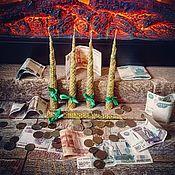 Свеча Спираль благоденствия
