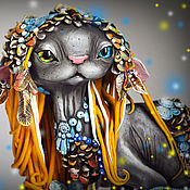 Куклы и игрушки handmade. Livemaster - original item Patukas, enchanted forest spirit. Handmade.