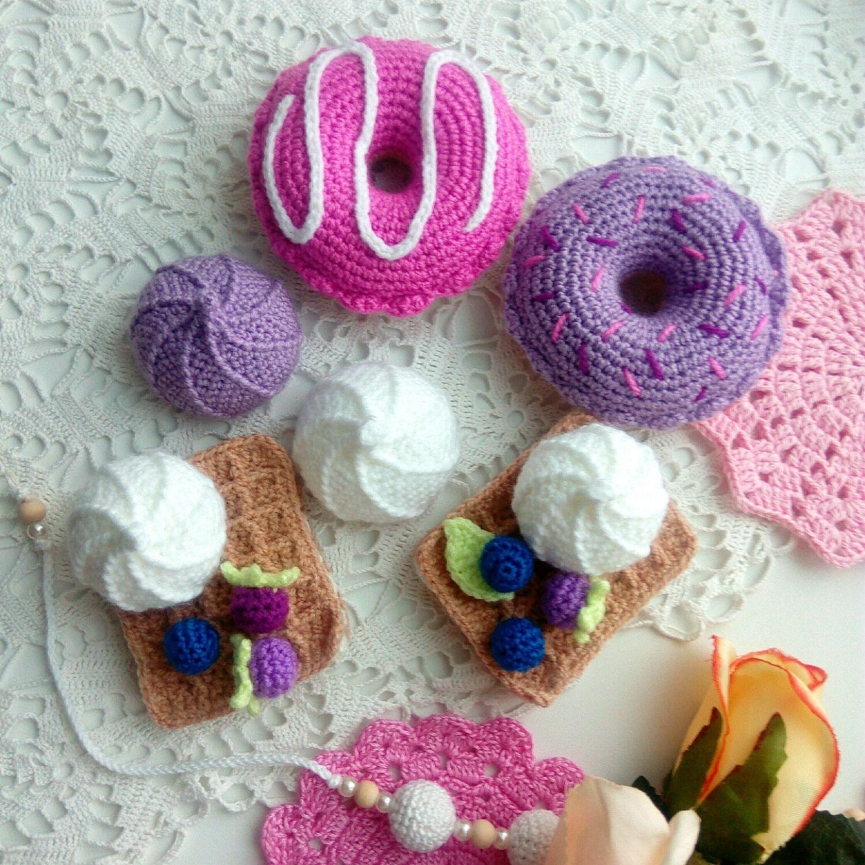 Набор Вязаные сладости Игровой набор Для девочки Ежевика Черника, Кукольная еда, Березовский,  Фото №1