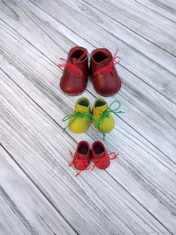 Обувь (ботиночки) для текстильных кукол, мышек, мишек, Одежда для кукол, Тамбов,  Фото №1