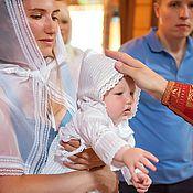 Работы для детей, ручной работы. Ярмарка Мастеров - ручная работа крестильный наряд МИХАИЛ. Handmade.