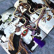 Украшения ручной работы. Ярмарка Мастеров - ручная работа Сотуар, длинные бусы, колье. Handmade.