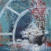 Картины и панно ручной работы. Ярмарка Мастеров - ручная работа Кофе с корицей. Handmade.
