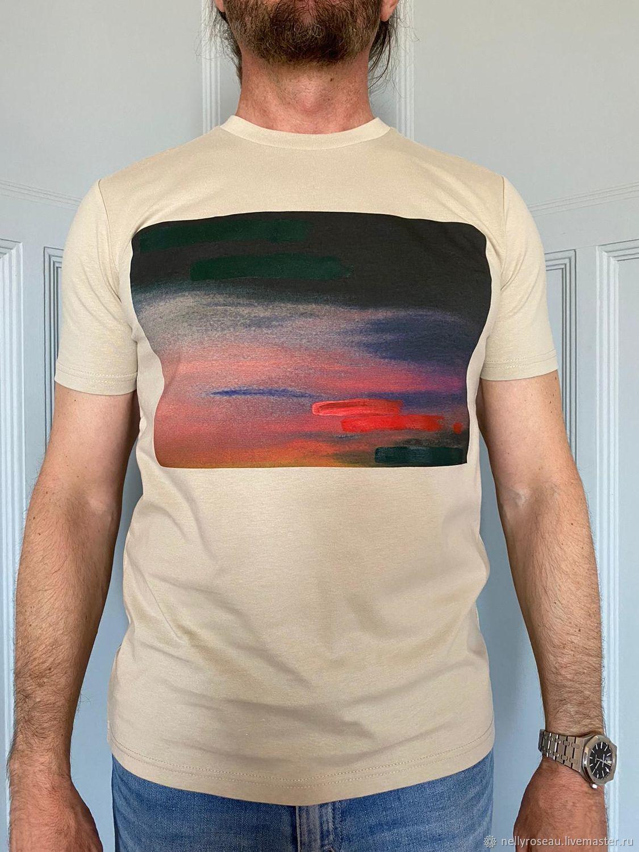 Дизайнерские футболки из Франции для мужчин, Футболки майки мужские, Ницца,  Фото №1