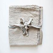 Для дома и интерьера handmade. Livemaster - original item FITNESS AND SPA TOWEL-LINEN BATH TOWEL. Handmade.