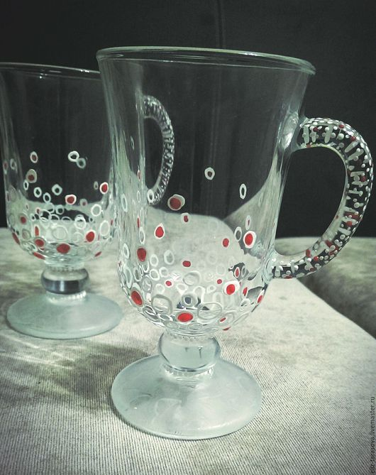 Бокалы, стаканы ручной работы. Ярмарка Мастеров - ручная работа. Купить Роспись стаканов, бокалов и кружек. Handmade. Комбинированный
