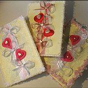 Открытки ручной работы. Ярмарка Мастеров - ручная работа Открытки-валентинки. Handmade.