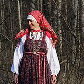 Costumes3 handmade. Livemaster - original item Traditional outfit Russian. Handmade.