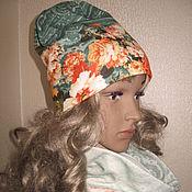 Аксессуары ручной работы. Ярмарка Мастеров - ручная работа комплект шапка снуд. Handmade.