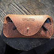 handmade. Livemaster - original item CASE FOR GLASSES // SEEING. Handmade.