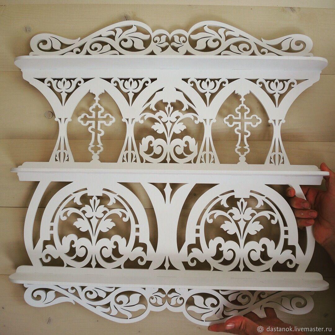 Furniture handmade. Livemaster - handmade. Buy 'The soft light'.White, shelf custom, shelf white