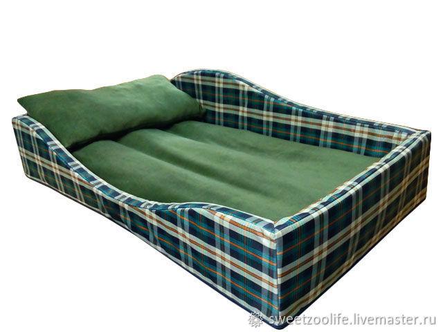 Лежанка (лежак, подстилка, матрас, кровать, диван) для собаки №104, Лежанки, Москва,  Фото №1