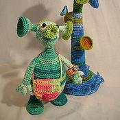 Куклы и игрушки ручной работы. Ярмарка Мастеров - ручная работа Инопланетянин (мама). Handmade.