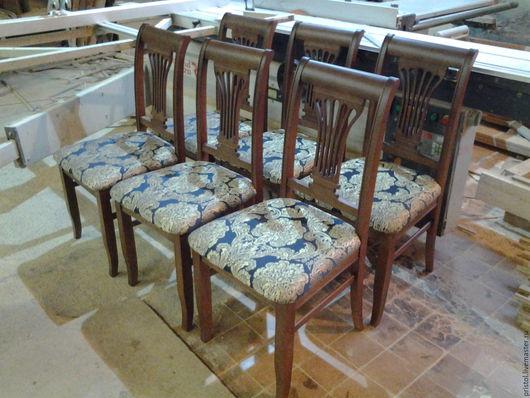 Мебель ручной работы. Ярмарка Мастеров - ручная работа. Купить Стулья деревянные.. Handmade. Коричневый, деревянные стулья, мебель на заказ