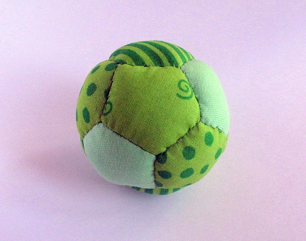 Мячик тряпичный своими руками