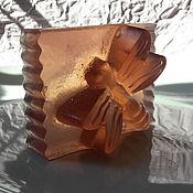"""Мыло ручной работы. Ярмарка Мастеров - ручная работа Мыло """"Черничное-Стрекоза"""". Handmade."""